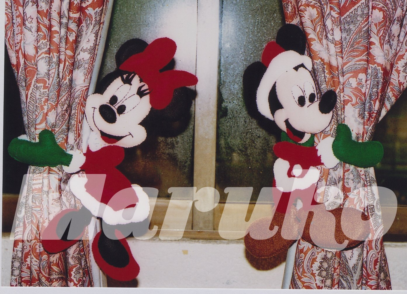 Cortinas De Baño De Kitty:UN GATO DE TRAPO: ♥ MICKEY & MINNIE AMARRA CORTINAS ♥