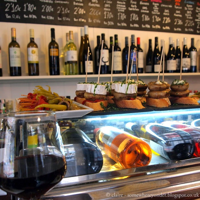 pintxos and wine - Bilbao, Spain
