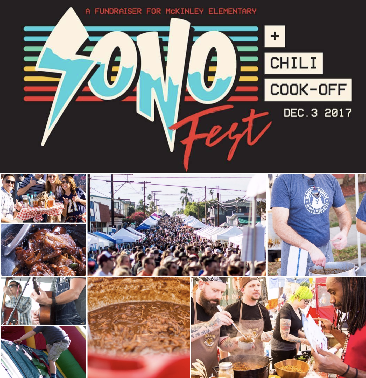SoNo Fest & Chili Cookout Returns On Sunday, December 3!