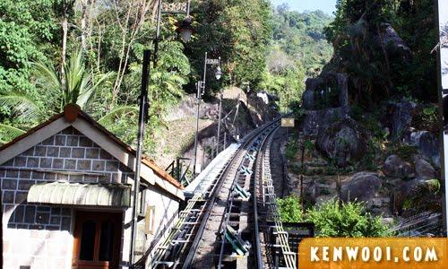 penang hill tram railway