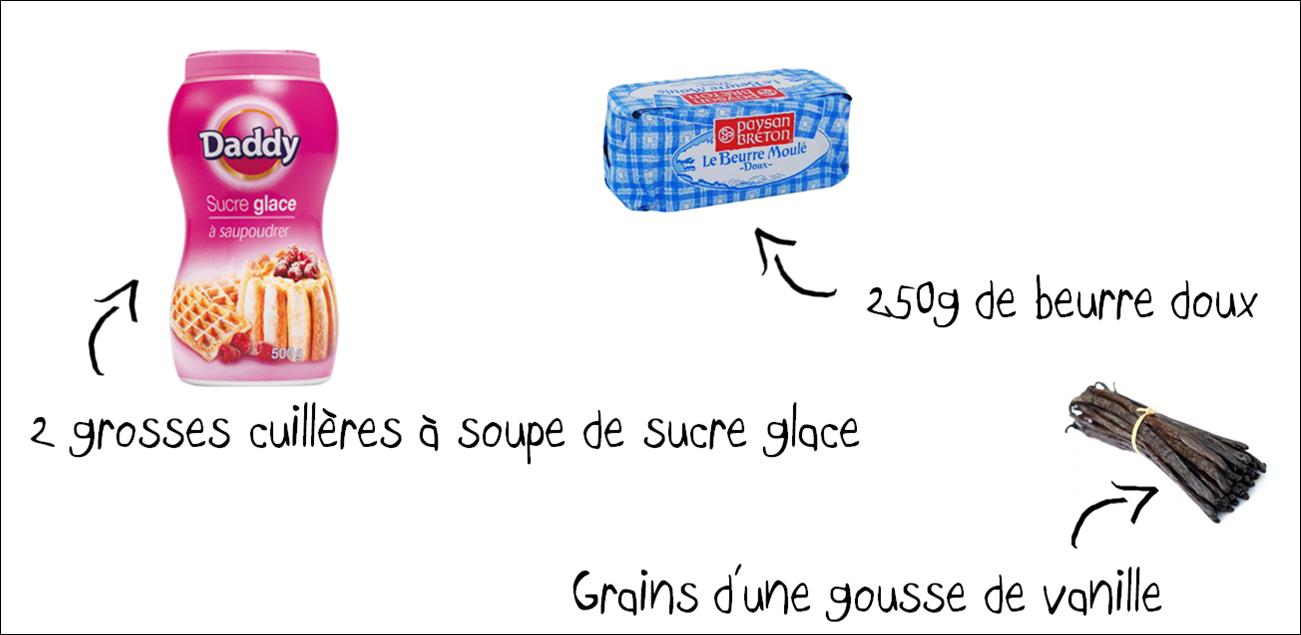 Ingrédient Cupcake Chloe.S Paris Homemade Fait Maison