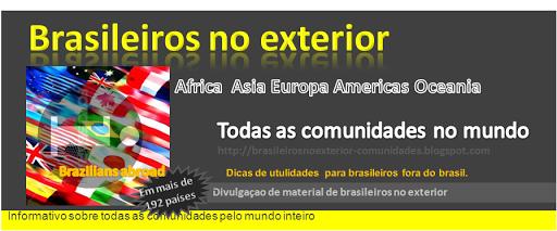 Comunidades de Brasileiros no exterior