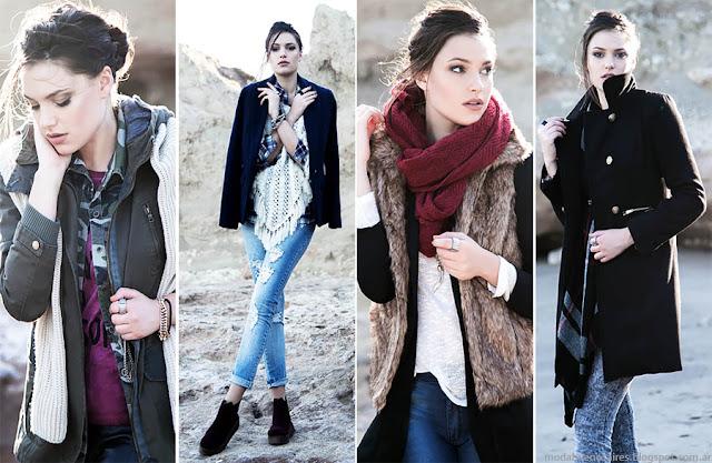 Moda invierno 2015 Argentina. Estilo Ambar colección otoño invierno 2015. Moda mujer inviern 2015.