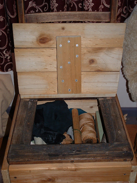 The Box Seated Chair – 3/21/12
