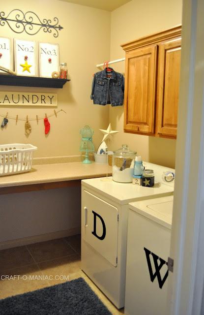 cute laundry rooms www.craft-o-maniac.com