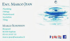Marco Jean, for all your building needs tel 0563240733