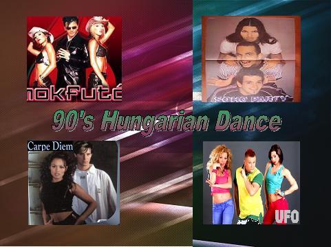 90-es évek magyar dance zenék