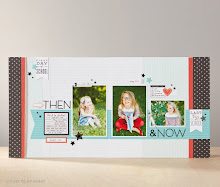 August Stamp of the Month Layout