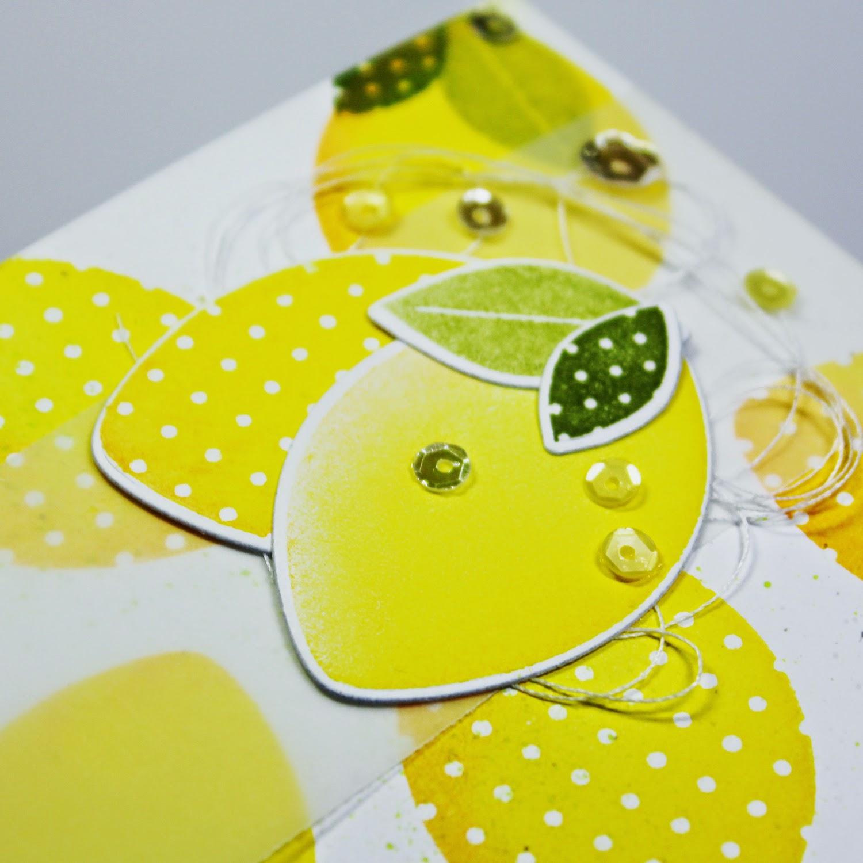"StampNation Reverse Confetti ""Fresh 'n Fruity"""