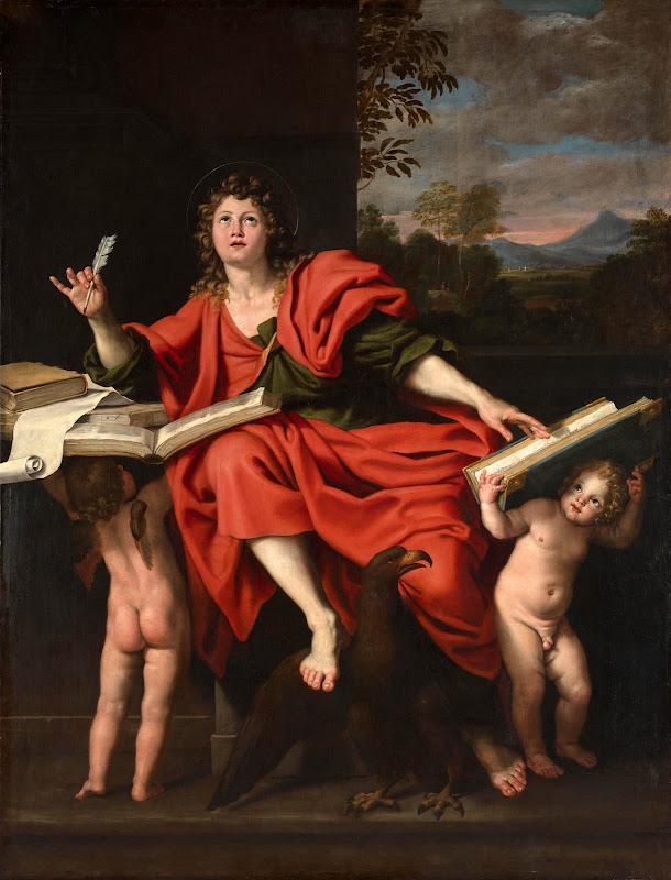 Domenichino - Saint John the Evangelist