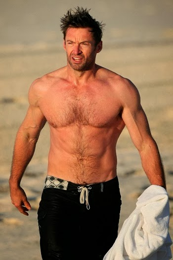 Hugh Jackman Body Photos