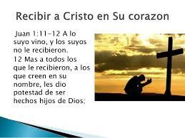 JESUS MURIO POR TI Y POR MI, RECIBELO EN TU CORAZON