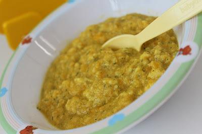 Zupa dla niemowląt - kalafiorowa z kluseczkami