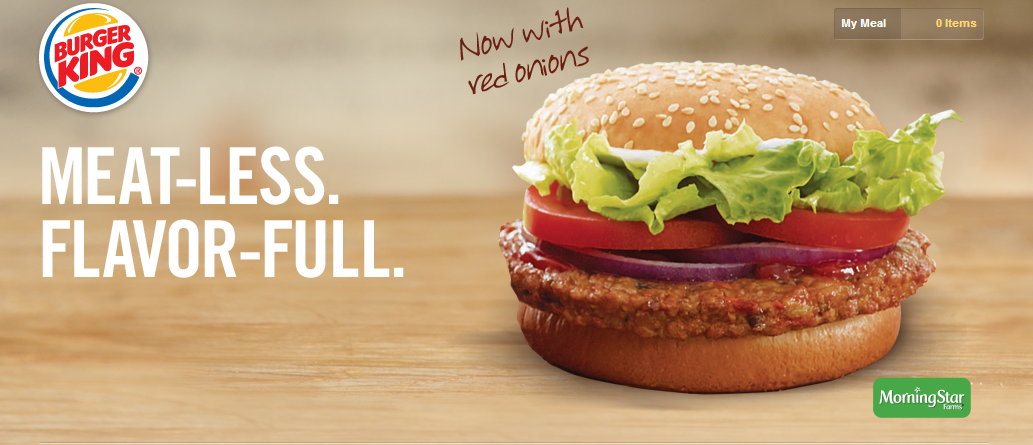 ... Burger King Spring Menu to Feature Turkey Burger and Veggie Burger