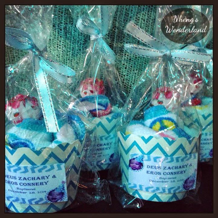 DIY Cupcake Towel Souvenirs