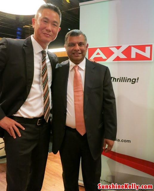 Jack Lim, Vice President of Advertising Sales and Marketing, Networks, Asia, Sony Pictures Television and Tan Sri Tony Fernandes, Group Chief Executive Officer AirAsia