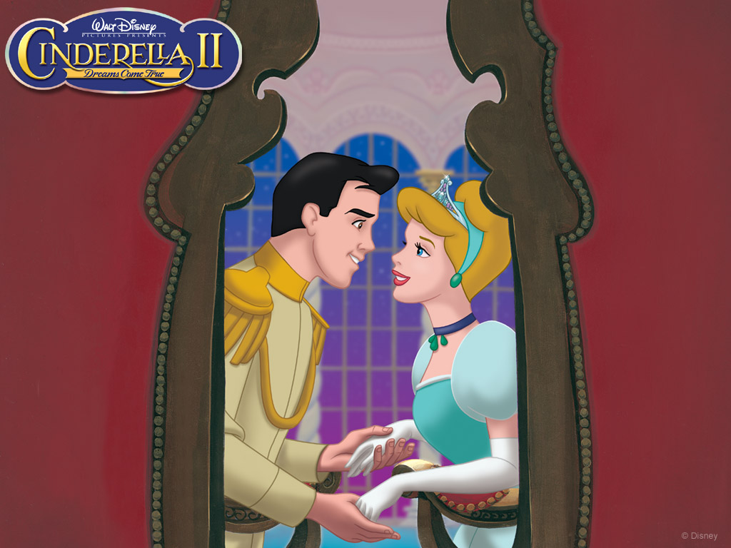 Cinderella and Prince Charming Cinderella II: Dreams Come True 2002 animatedfilmreviews.filminspector.com