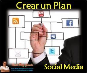 Como crear un plan en las Redes sociales