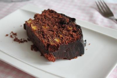 Cake de chocolate y naranja o Bizcocho de chocolate y naranja