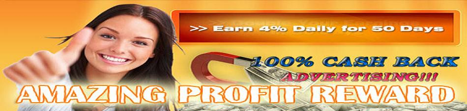 Amazing Profit Reward - Earn 4% Daily