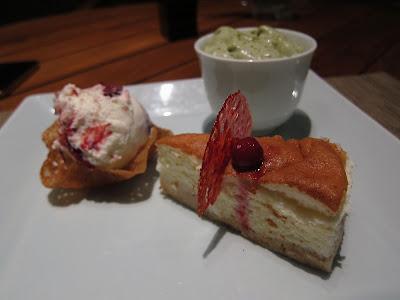 Dessert plate at Edo