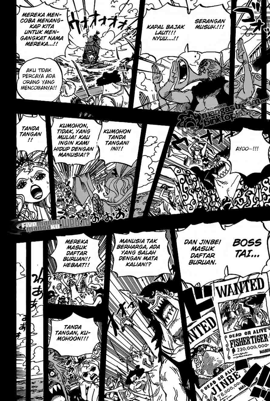 One Piece 622 page 14