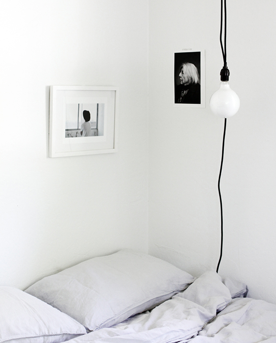 LOVE OR NOT: All white bedrooms | Image via A Merry Mishap.