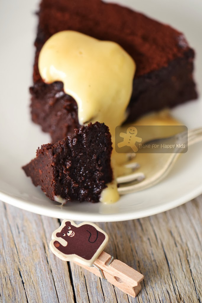 melt and mix chocolate dessert cake Donna Hay