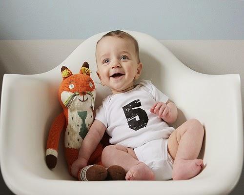 Une jolie Photo bébé 5 mois