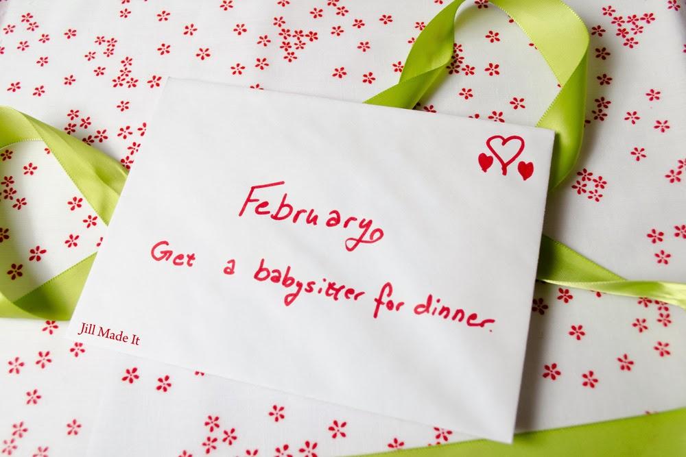 Jill Made It:  February Date