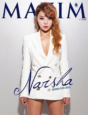 Narsha Brown Eyed Girls hot