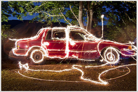 How to Photography  Sparklers and Fireworks using Long Exposure