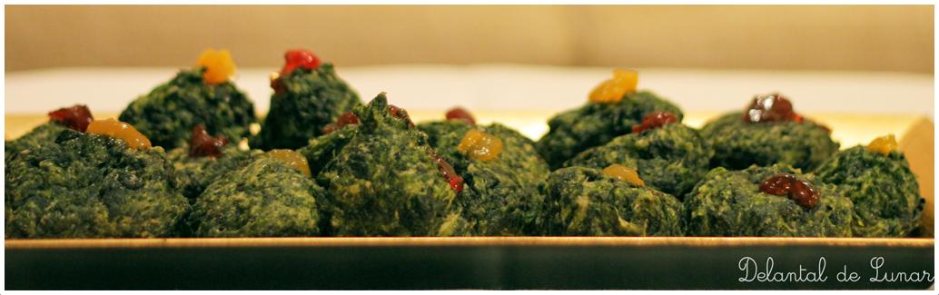 Foto: Receta vegetariana: Buñuelos de espinacas