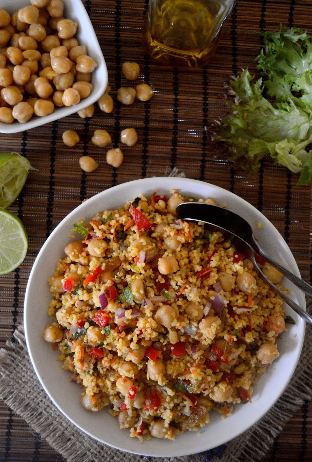 how to make non instant couscous