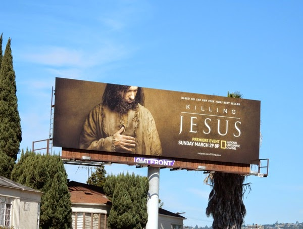 Killing Jesus billboard