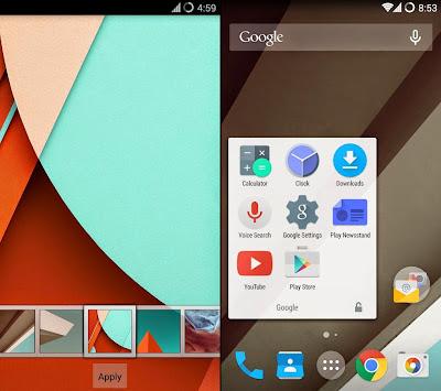 Cara Mengubah Android Gingerbread 2.2+, ICS 4, Jelly Bean 4.1+ menjadi Lollipop 5 tanpa Root
