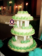 Wedding Cake - Steam Buttercream