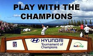 Hyundia Tournament of Champions, Golf Course at Kapalua Resort