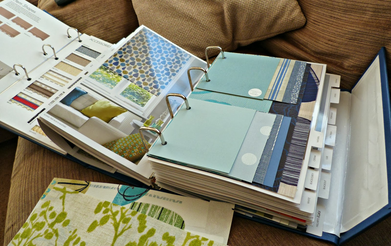 notSupermum: A new kitchen blind, indecision and some wet paint ...