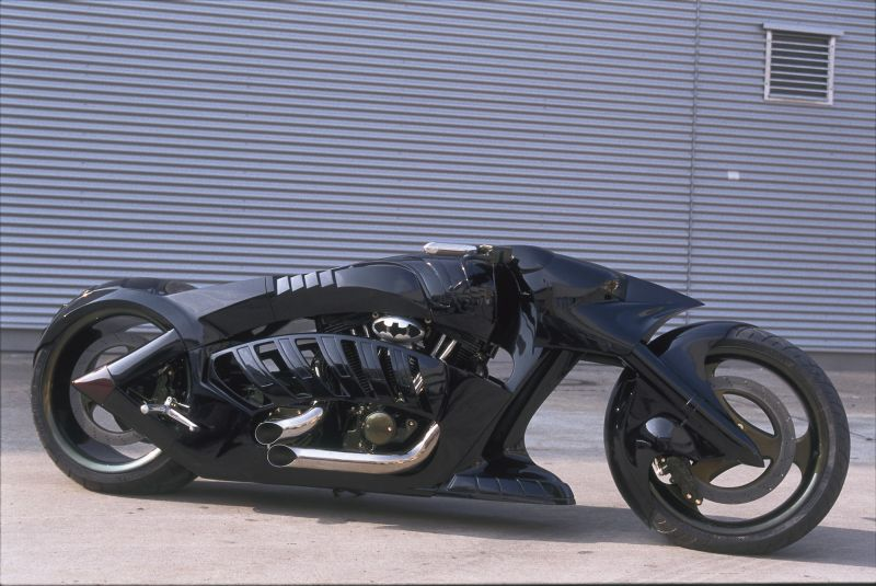 Moto Batman.