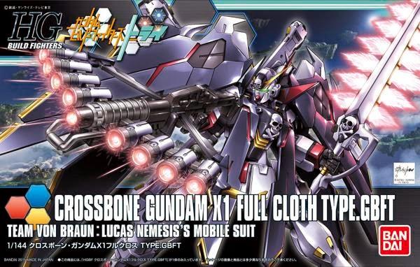gundam build fighters try crossbone gundam
