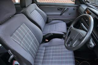 Interior shot showing new seats  G250XAN