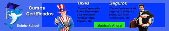 Cursos Certificados de Seguros y Taxes