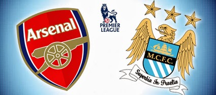 Arsenal+vs+Manchester+City Prediksi Arsenal vs Manchester City 30 Maret 2014