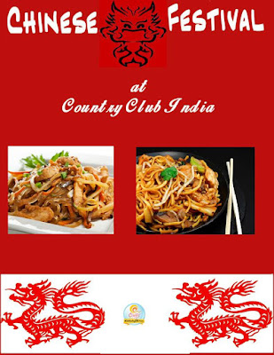 Chinese Festival at Country Club India