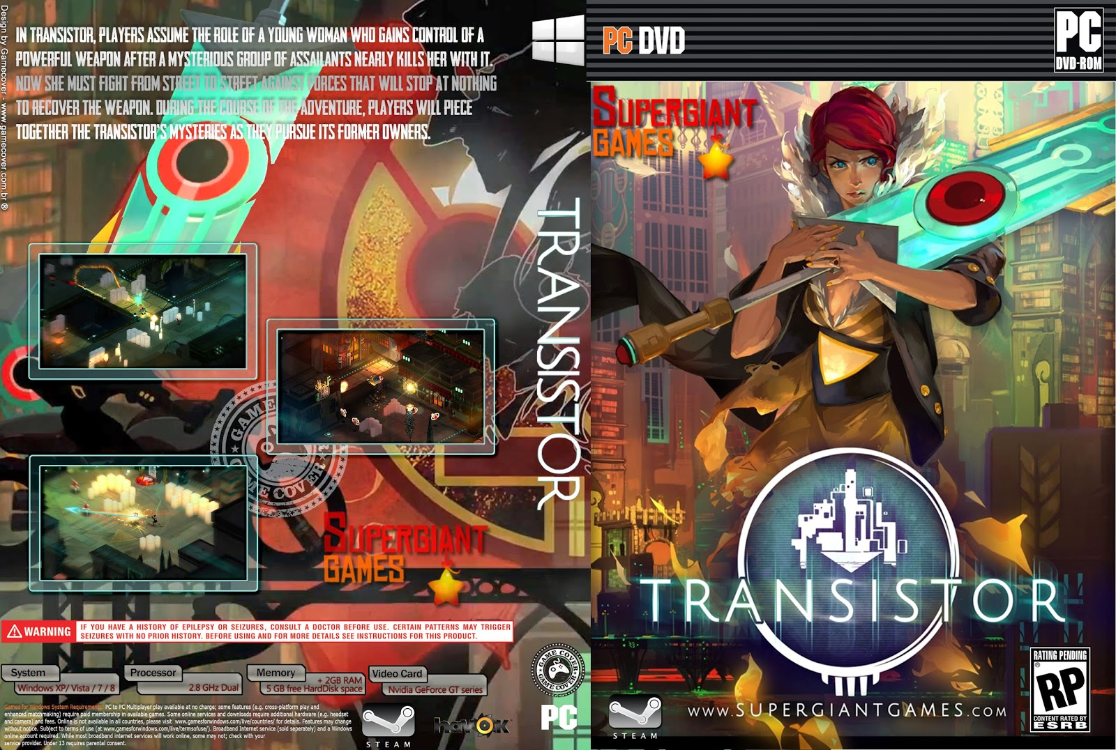 Capa Transistor PC [Exclusiva]