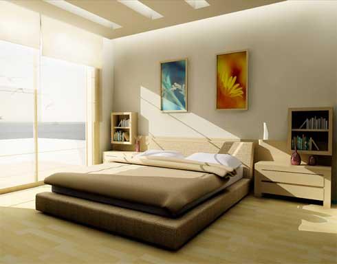 C mo decorar tu rec mara estilo minimalista tips para - Decorar habitacion principal ...