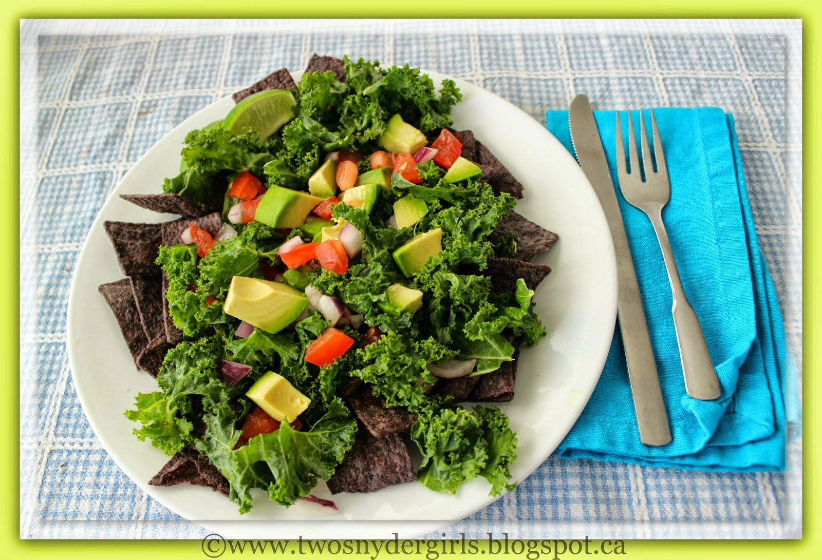 Kale Guacamole Salad
