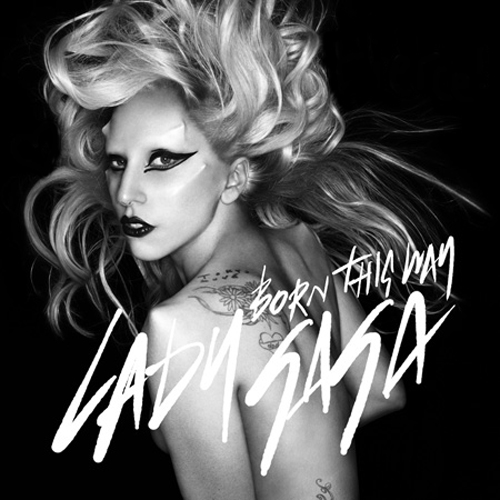 lady gaga born this way album cover art. Lady Gaga has debuted the