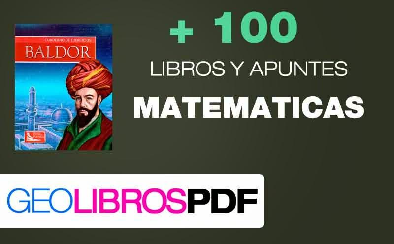 100 libros de Matematicas pdf